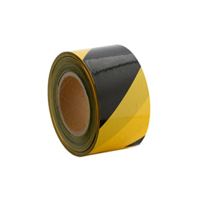 Floor marking tape 50mm yellow black