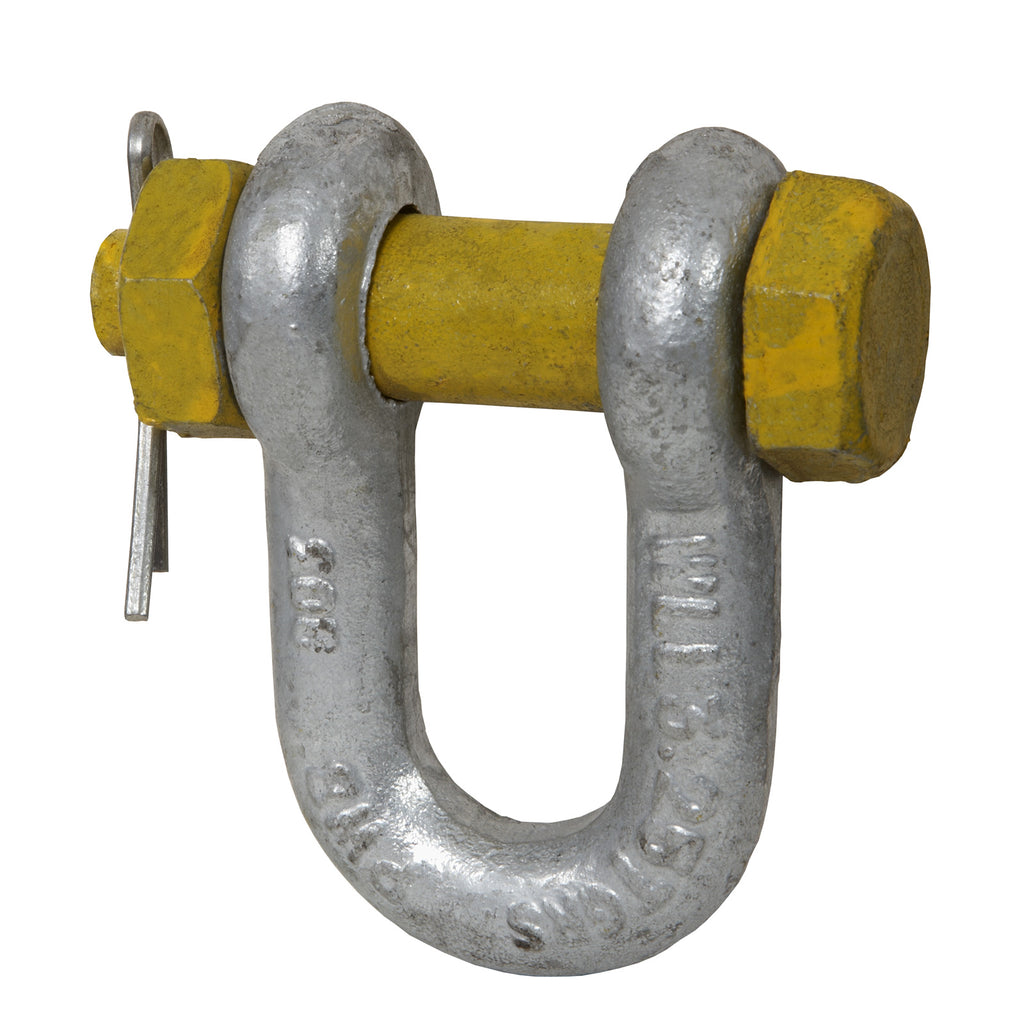 Grade S Safety Pin Dee Shackles