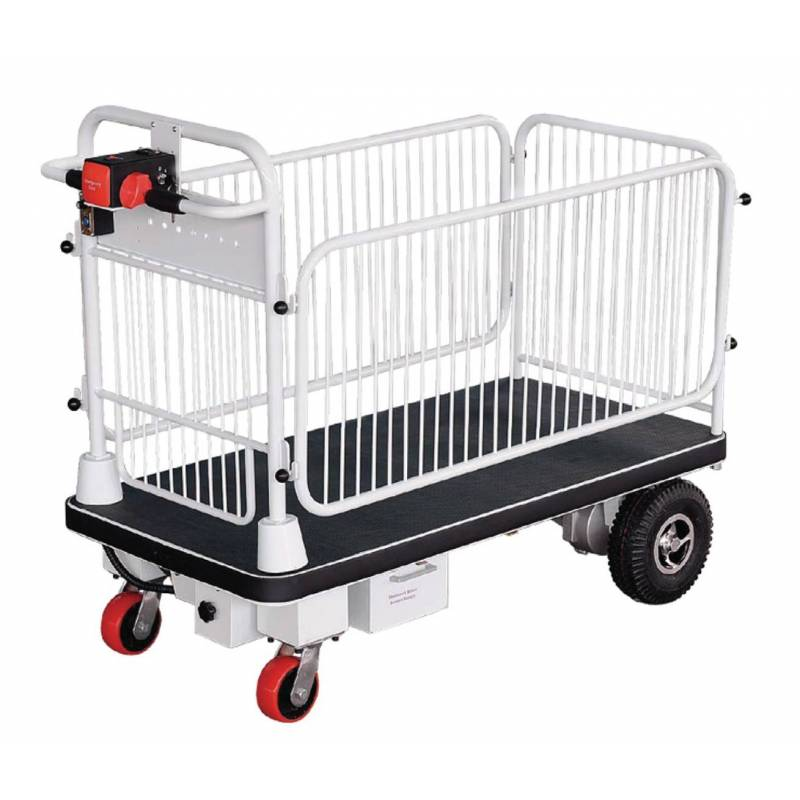 Fully Powered Cart with Cage - HG105