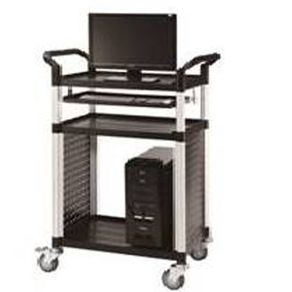 Triple Deck Audio Visual Cart - HS703S