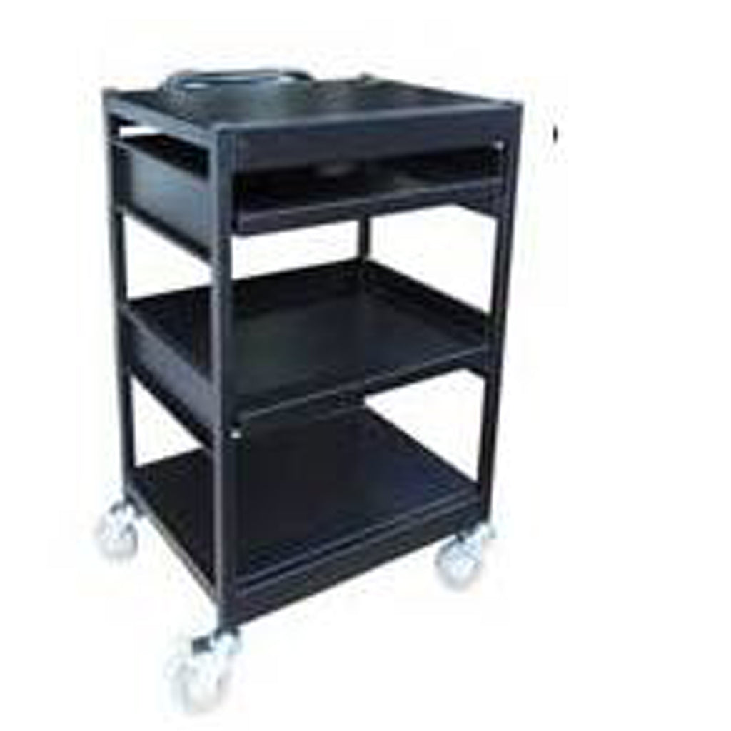 Triple Deck Computer Cart - HS900