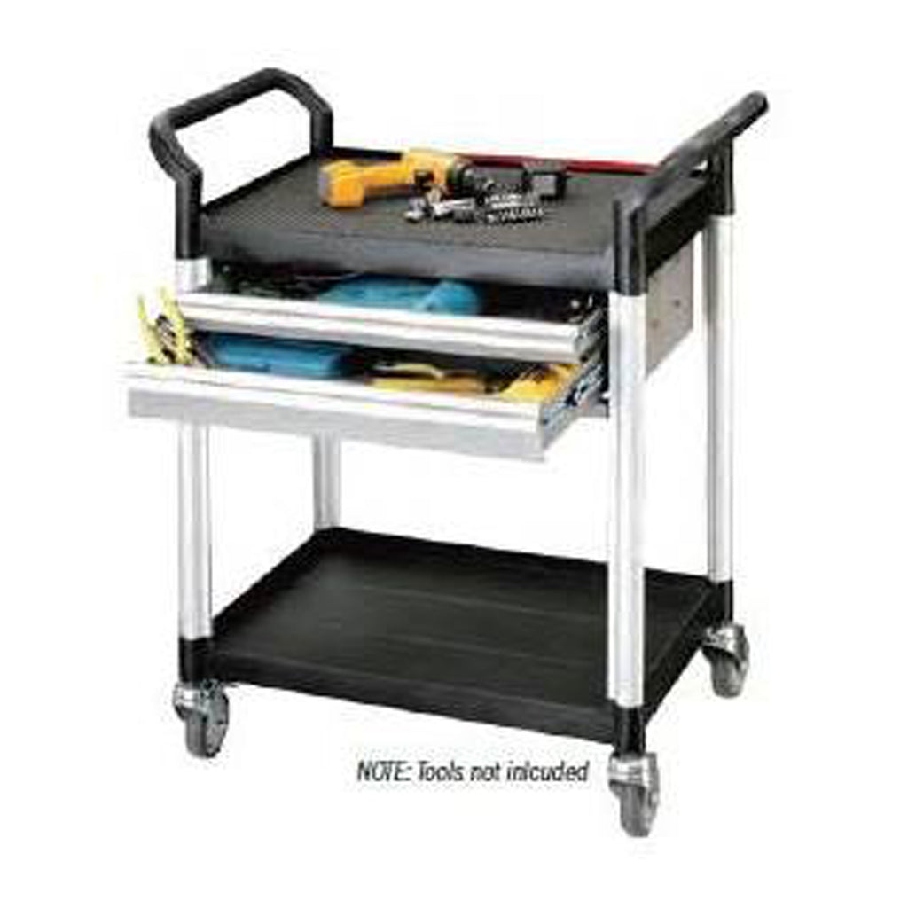 Double Deck Tool Trolley - Twin Drawers - HS922