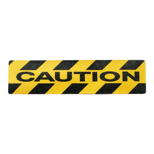 Caution Anti-slip Mat 150mm x 600mm