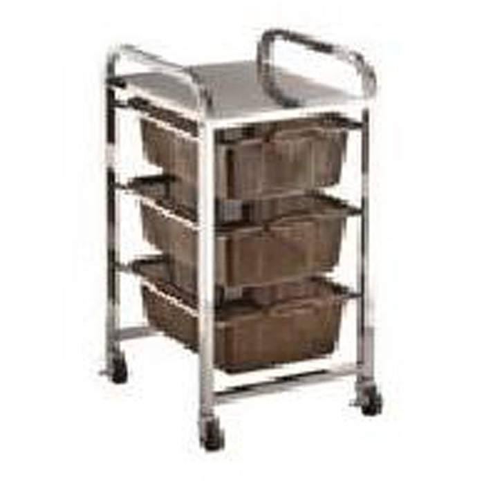 Triple Shelf Strainer Cart - MT5053