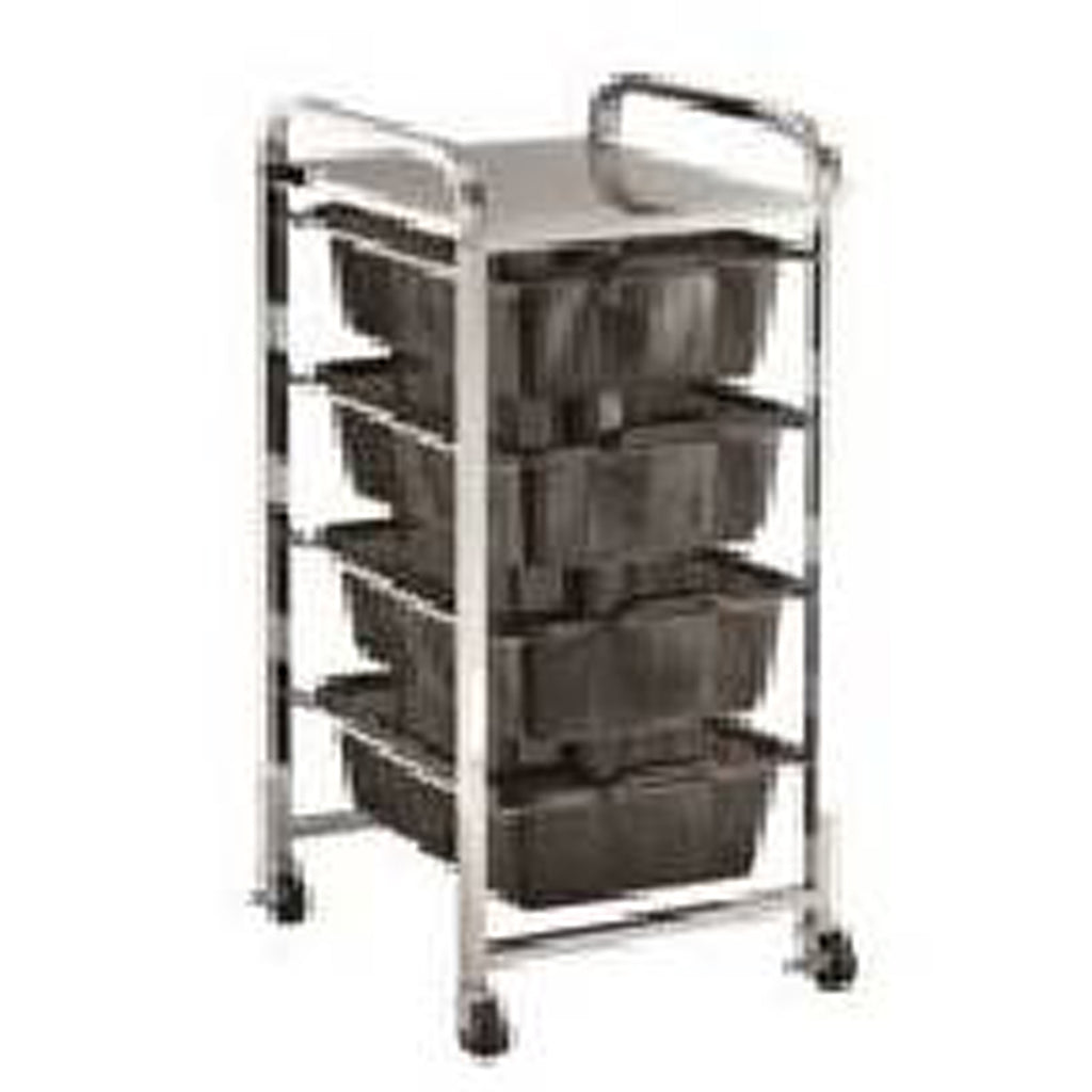 Quad Shelf Strainer Cart - MT5054