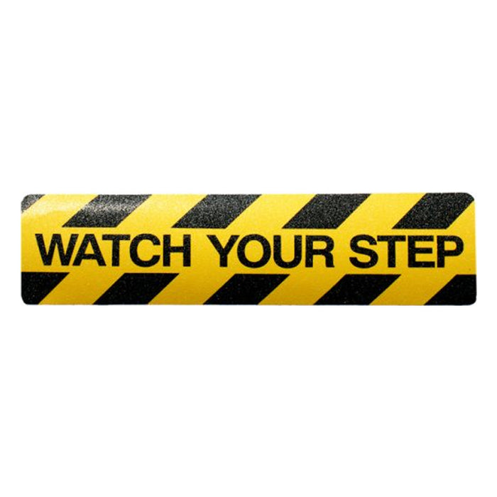 Watch Your Step Anti-slip Mat 150mm x 600mm
