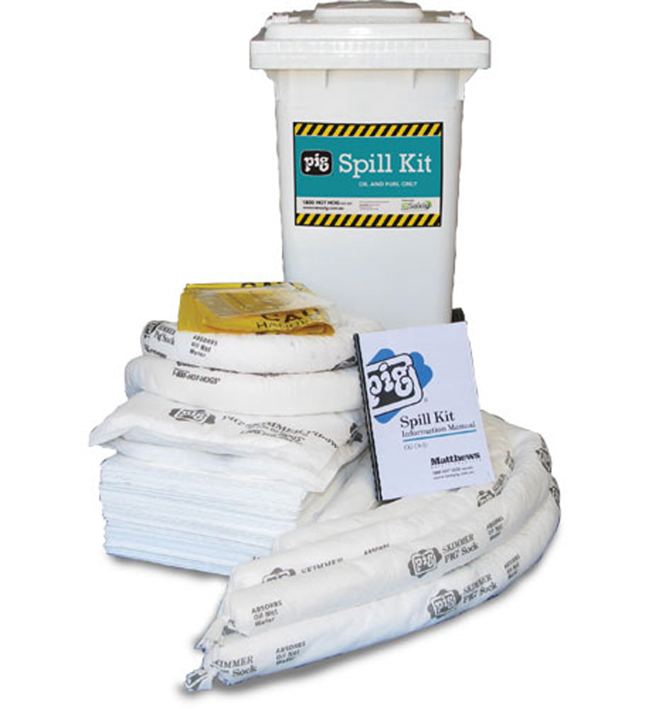 Oil Spill Kit in Mobile Container120 Litre