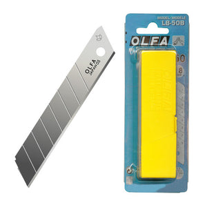 Olfa Large Snap Cutter Blades Carded LB50B
