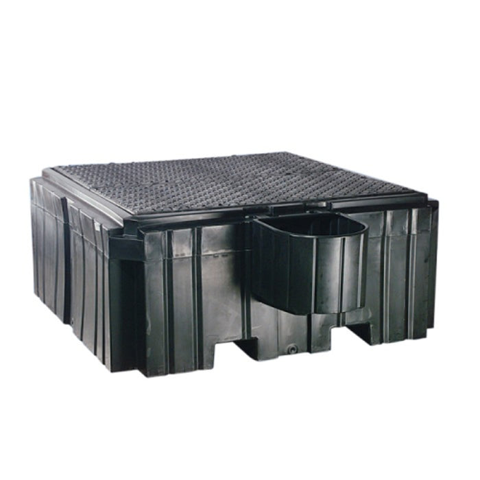 PIG Poly IBC Spill Containment Pallet with Shelf