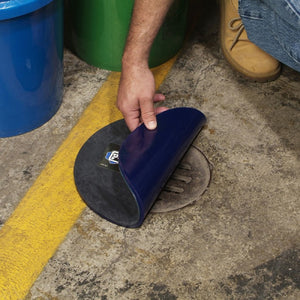 PIG Drive-Over DrainBlocker Round Drain CoverFor drains 15cm diametre