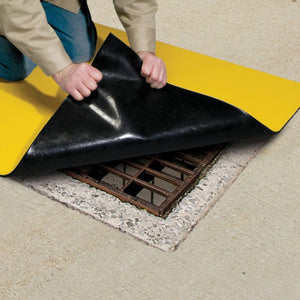 PIG DrainBlocker Drain Cover with DuPont Elvaloy For drains 121cm square