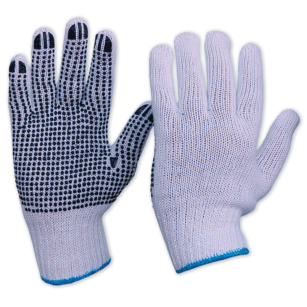 Knitted Poly/Cotton Glove - Mens