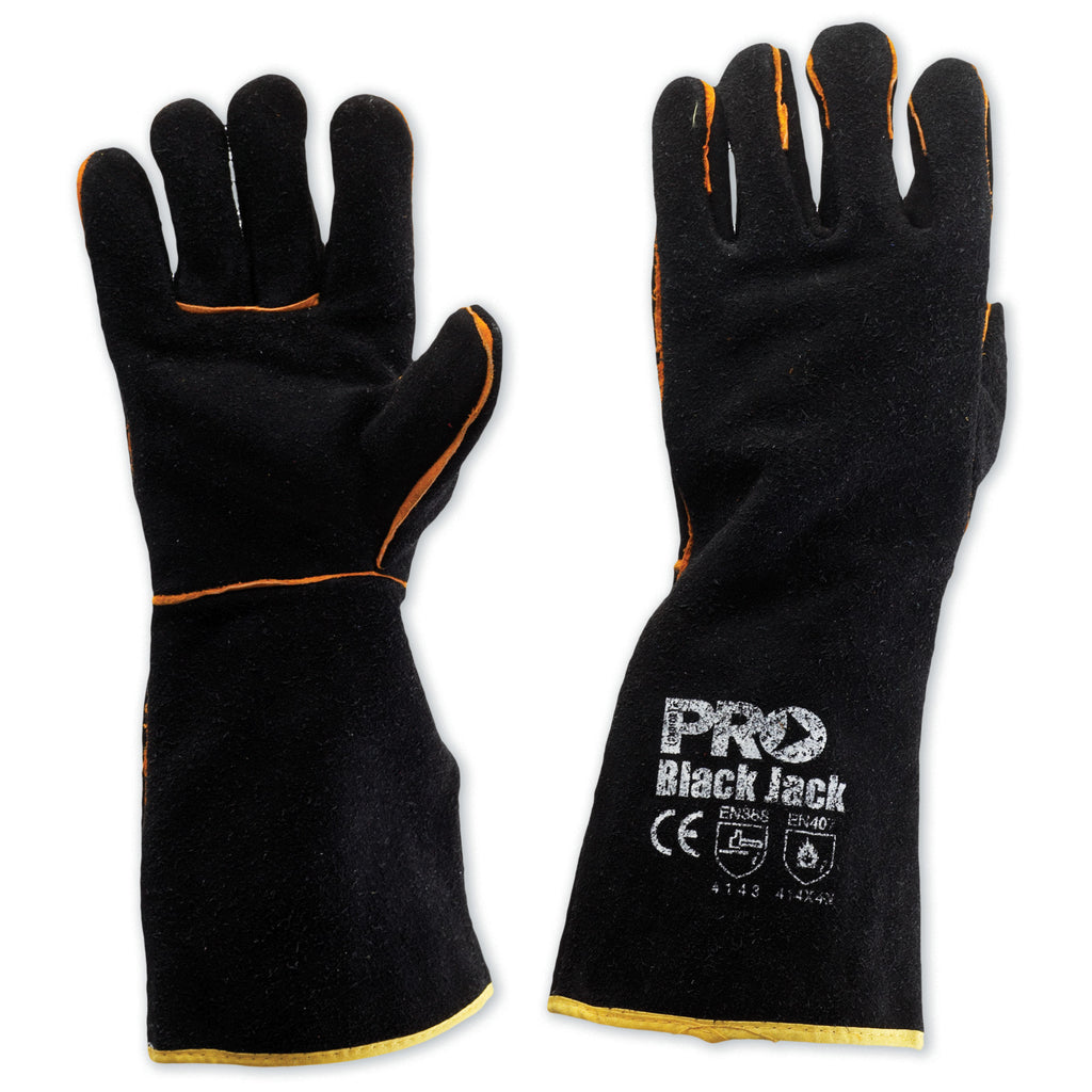 Black Jack - Black Gold Welders Glove
