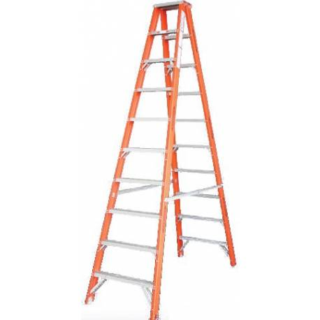 Indalex Fibreglass Double Sided Ladder