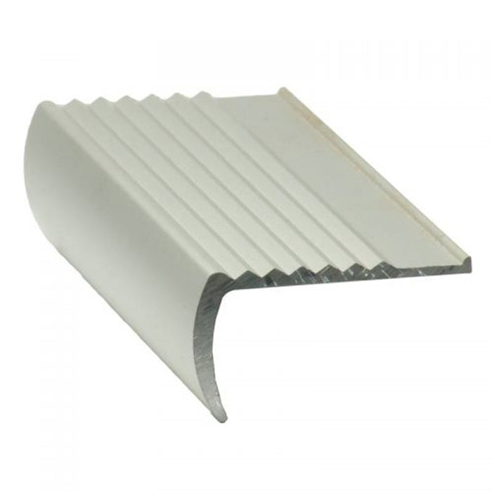 RNS Aluminium Stair Nosing Serrated Top 35mm x 48mm x 3620mm