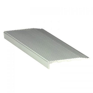RST50 Aluminium Stair Nosing Serrated 10mm x 50mm x 3620mm