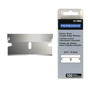 Single Edge Blades Heavy Duty 610121