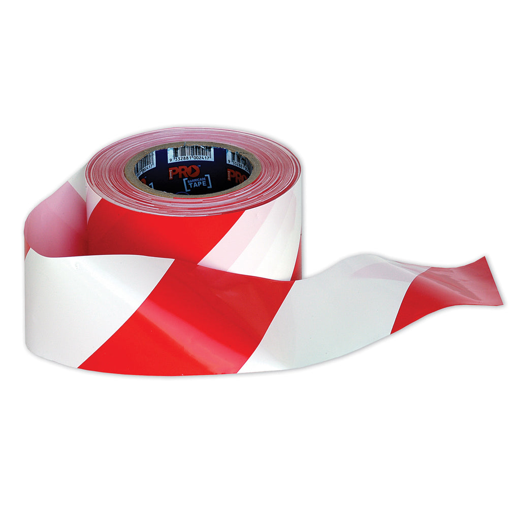 Barricade Tape Red/White