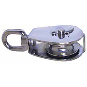 Small Swivel Head Block With Stainless Steel Sheave - 304 Grade