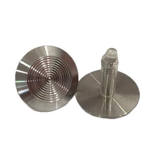 Solid 316 Stainless Steel Tactile with a 25mm x 8mm self-locking stem