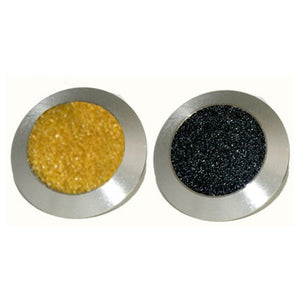 316 Stainless Steel Tactile. Solid Carborundum in-filled Flat Surface