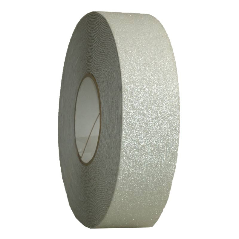 50mm x 18.3m Self Adhesive #36 grade HEAVY DUTY CLEAR non-slip grit Tape