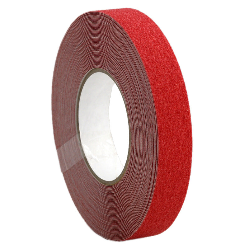25mm x 18.3m Self Adhesive Anti-slip Tape – Red