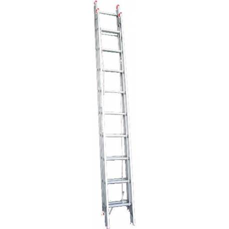 Indalex Aluminium Extension Ladder - 135kg