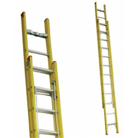Indalex Fibreglass Extension Ladder 120kg - 135kg