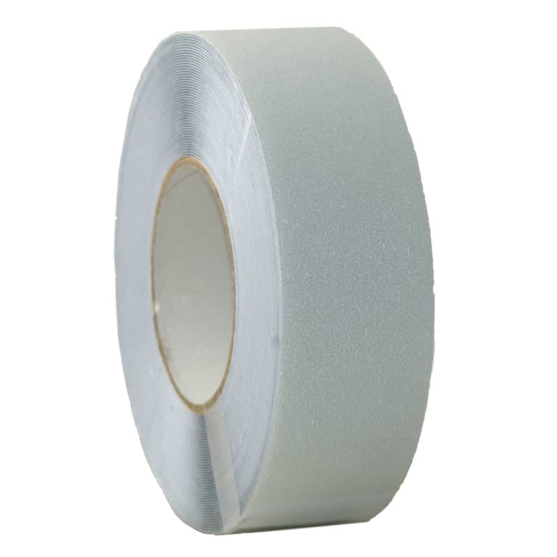 50mm x 18.3m Non Abrasive Self Adhesive Anti-slip Tape – White