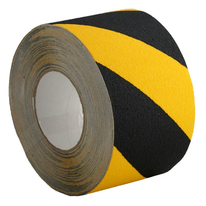 Self Adhesive Anti Slip Tape Yellow/Black 200mm x 18.3m