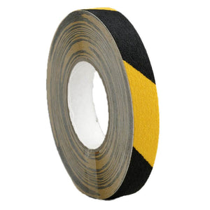 Self Adhesive Anti Slip Tape Yellow/Black 25mm x 18.3m