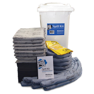 Universal Spill Kit in Large Mobile Spill Kit Container 240 Litre