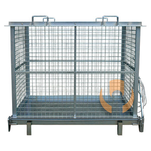 WDM160 Drop Bottom Mesh Cage