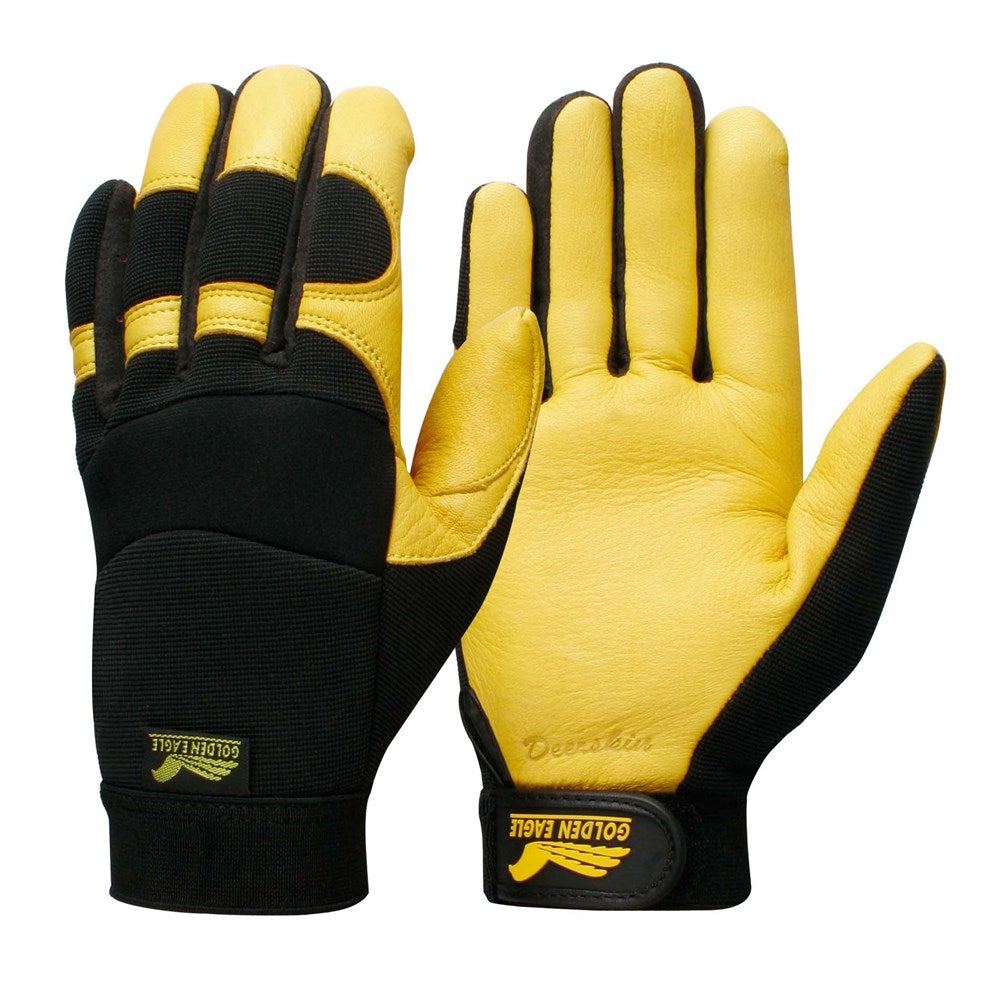 Contego Golden Eagle Yellow/Black. C/W Grip Tab Glove
