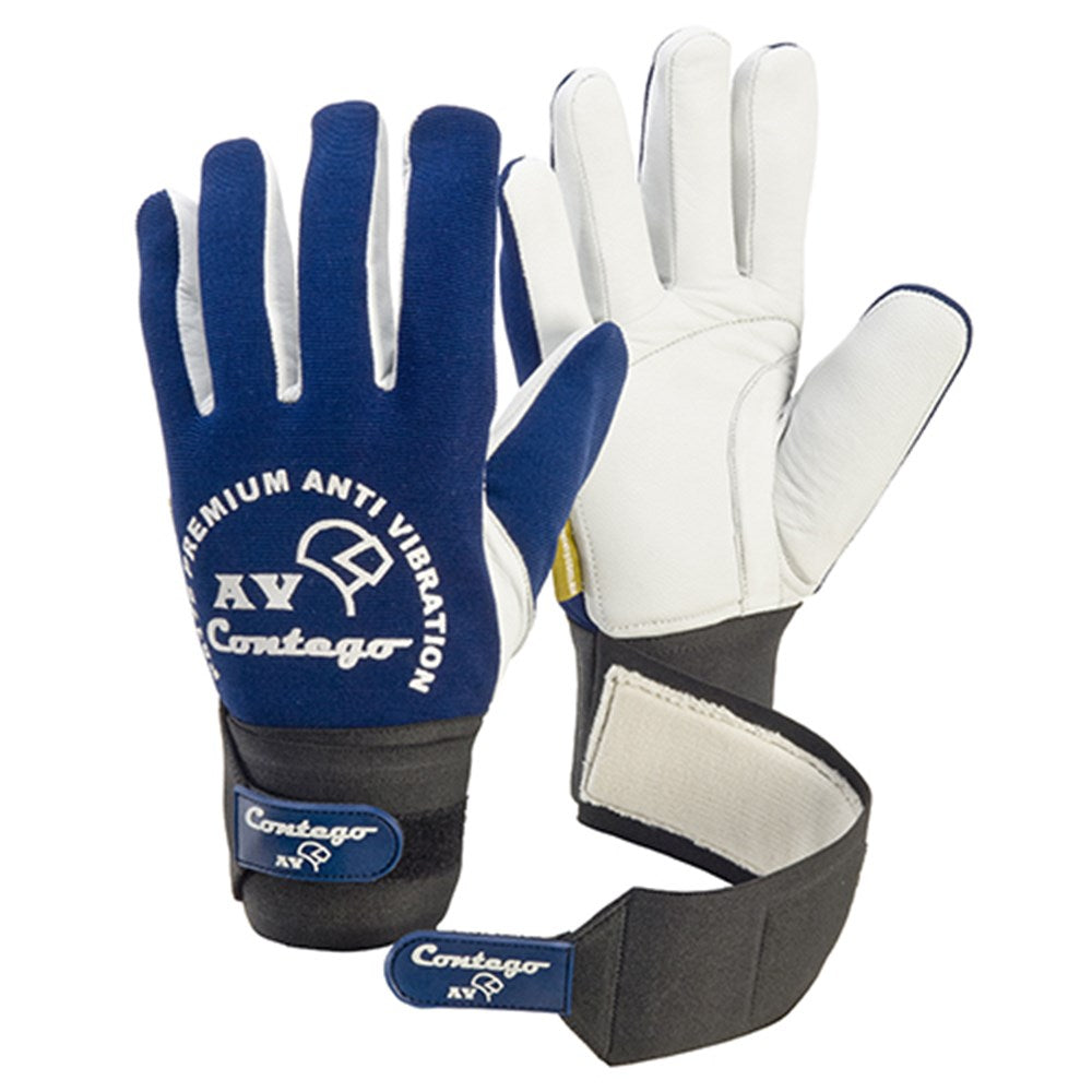 Contego Anti Vibration Blue/White. C/W Grip Tab Glove