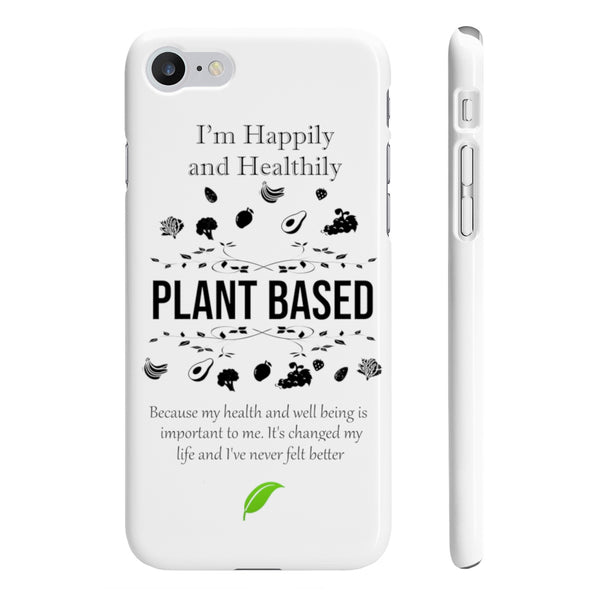 Plant Based Wpaps Slim Phone Cases