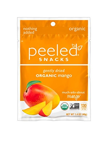 Peeled Snacks Organic Dried Fruit, Much-Ado-About-Mango, 1.4 Ounce (Pack of 10)