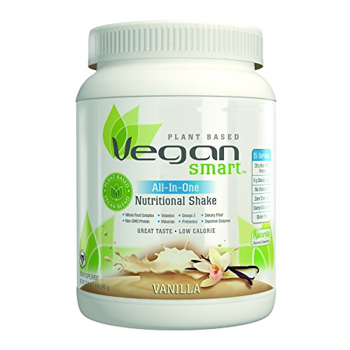 Naturade VeganSmart Plant Based Vegan Protein All-In-One Nutritional Shake – Vanilla 22.75 oz