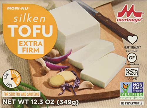 Mori-Nu Tofu, Silken Style, Extra Firm, 12.3-Ounce Boxes (Pack of 3)