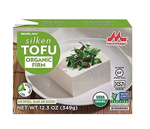 Mori-Nu Silken Tofu, Organic Firm, 12.3 Ounce (Case of 12)