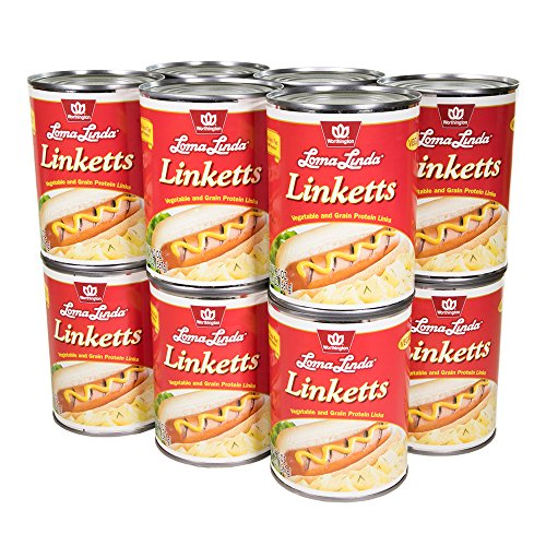 Loma Linda - Vegan - Linketts (20 oz.) (Pack of 12) - Kosher