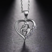 Beautiful mother and child necklace