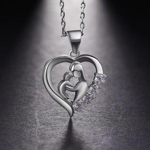 Beautiful mother and child necklace - Jewelry - Bentyz