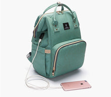 2018 Baby diaper bag with USB interface - Accessories - Bentyz