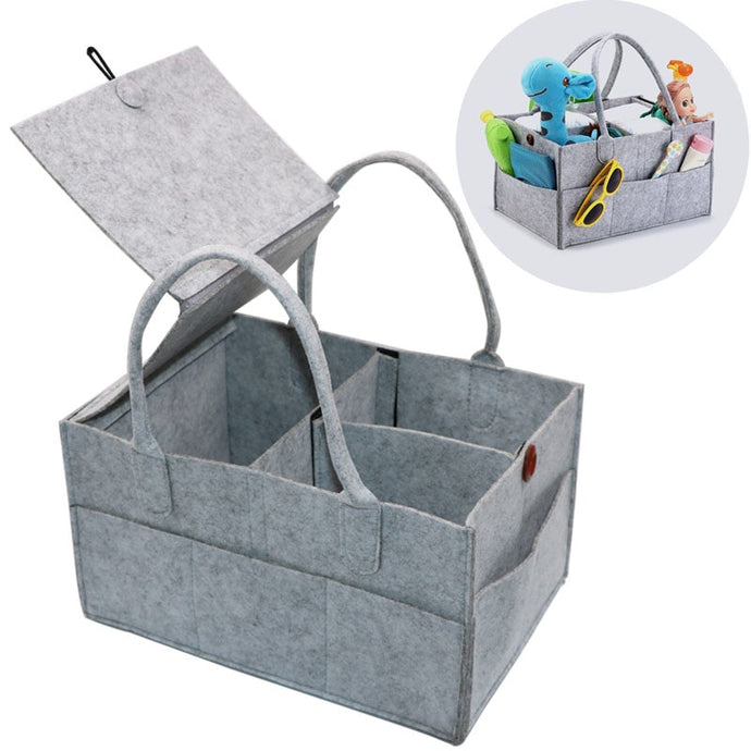 Foldable Baby items organizer