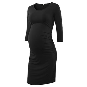 3 Quarter maternity dress - Dress - Bentyz