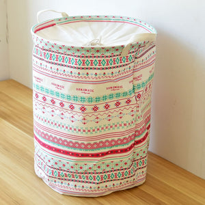 Bohemian printed cotton storage bag - Accessories - Bentyz