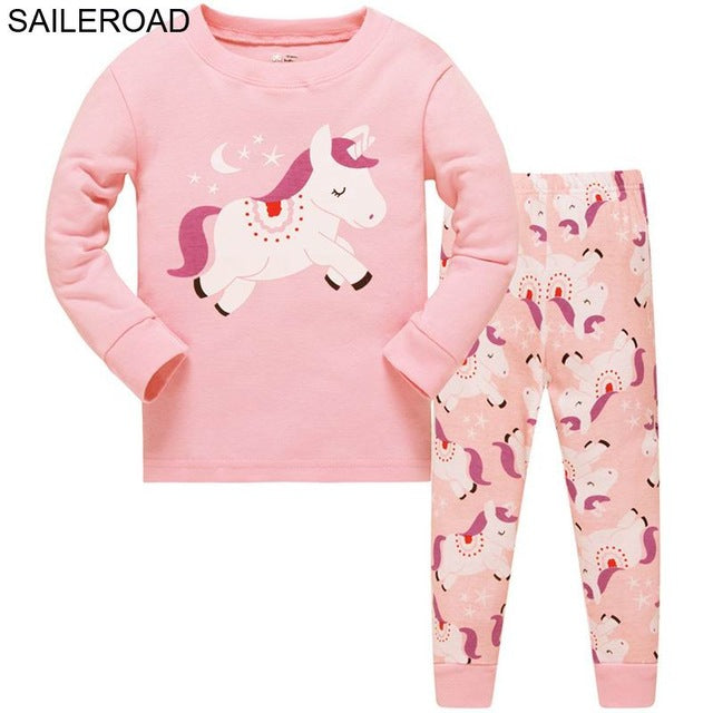 Cute Unicorn pajamas - 5 Different patterns
