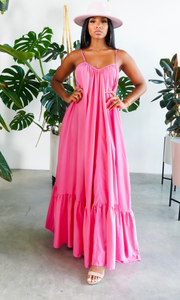 Fabulous Comfort | Maxi Dress - Pink